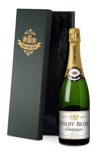 Classic Personalised Champagne with Gift Box